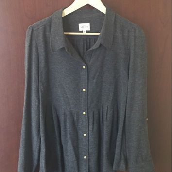 French Girl Must Sezane Shirt (Small/Indie Brands)