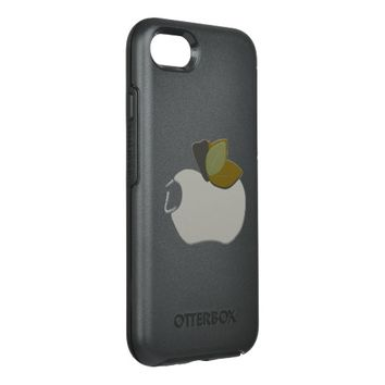 Bombay Grey Apple OtterBox Symmetry iPhone 7 Case