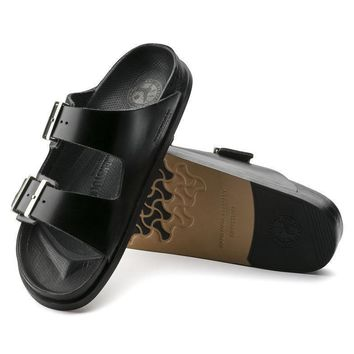 Sale Birkenstock Arizona Exquisite Leather Premium Black 1008953 Sandals