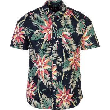 Huf Vintage Tropicana Shirt - Short-Sleeve - Men's Black,