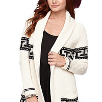 LA Hearts Tribal Shawl Cardigan at PacSun.com