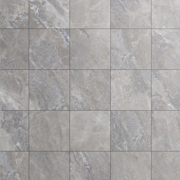 Shop Style Selections Tousette Gray Ceramic Floor Tile (Common: 13-in x 13-in; Actual: 12.97-in x 12.97-in) at Lowes.com
