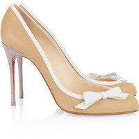 Christian Louboutin | Beauty 100 leather pumps | NET-A-PORTER.COM