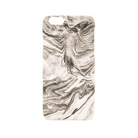 Marbled iPhone 6 Case in Black & White