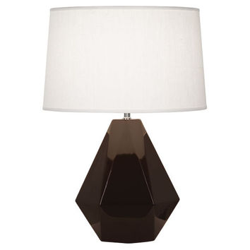 Delta Collection Table Lamp design by Robert Abbey