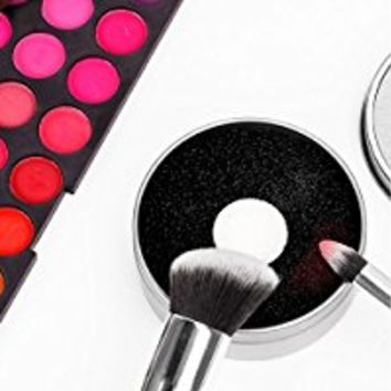 Docolor Makeup Brush Cleaning Tool - Makeup Brush Quick Cleaner Sponge - Removes Shadow Color from Your Brush