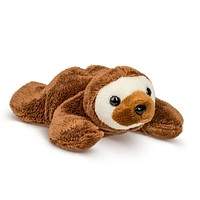 "Single Sloth Mini 4"" Small Stuffed Animal, Zoo Animal Toy, Jungle Safari Party Favor for Kids"