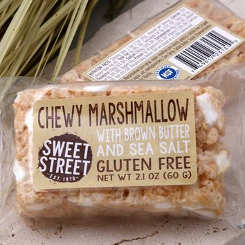 Chewy Marshmallow Bars, GF & Individually Wrapped. Buy Bars & Stacks Online | Sweet Street Desserts