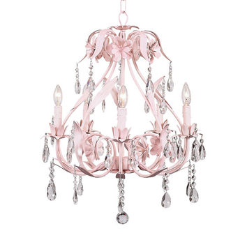 Great Hall Chandelier in Pink