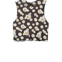 Allover Daisy Tank
