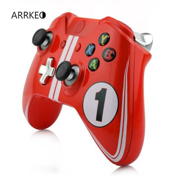 ARRKEO DIY Limited Edition Full Custom Case Shell Mod Kit For Xbox One Wireless Controller With 3.5mm Headset Jack Replacement