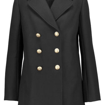 Wool-blend coat | Maje | US | THE OUTNET