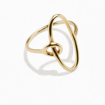 & Other Stories | Oval Loop Ring | Gold