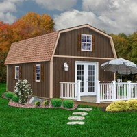 Best Barns Richmond 16 ft. x 28 ft. Wood Storage Building richmond1628 at The Home Depot - Mobile