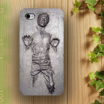 iphone case, i phone 4 4s 5 case, iphone4 iphone4s iphone5 case,stylish plastic rubber silicone cases cover han solo star