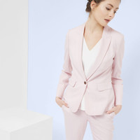 Pastel tailored jacket - Baby Pink | Suits | Ted Baker