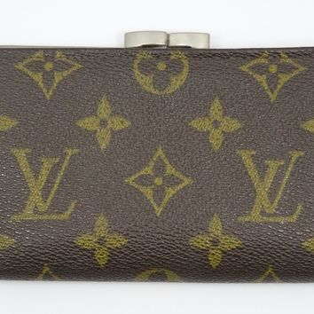 RARE 70's LOUIS VUITTON SAKS FIFTH AVENUE KISSLOCK COIN WALLET PURSE