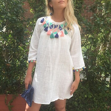 Pom Spritzer Dress