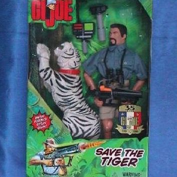G.I. Joe 12 Save The Tiger Action Figure - Adventure Team`` [Toy]