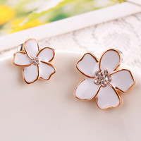 The five petals of earrings a