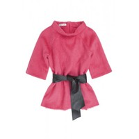 Fran and Jane Uni 1 Top wth Tie Belt (Pink)