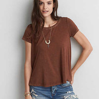 AEO Soft & Sexy Swing T-Shirt, Brown