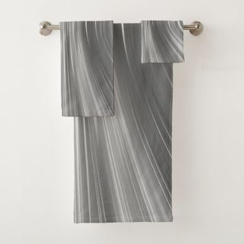 Gray Mist Driving Dreams Bathroom Towel Set