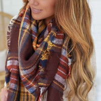 Gather Together Blanket Scarf