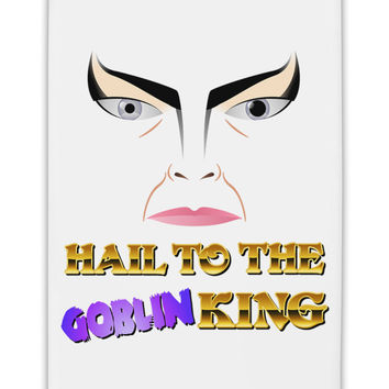 "Hail to the Goblin King Fridge Magnet 2""x3"
