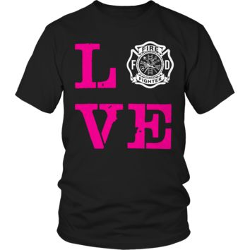 Limited Edition -Firefighter Wife Love
