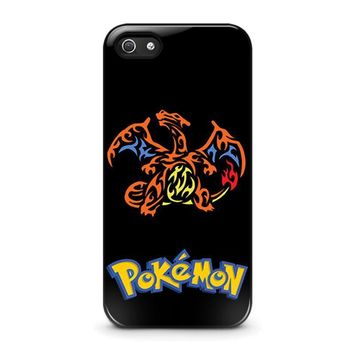 pokemon charmander iphone 5 5s se case cover  number 1
