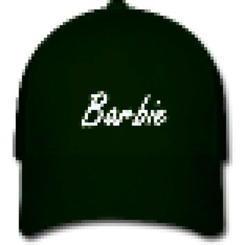 Barbie Script Baseball Hat
