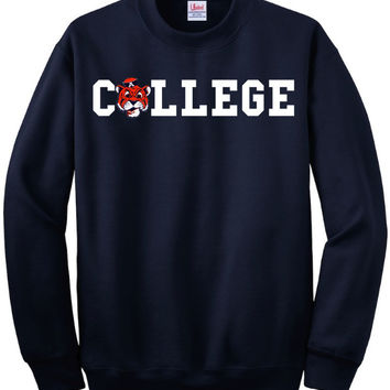 Auburn Tigers College Sweatshirt