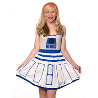 R2-D2 Fit and Flare Dress