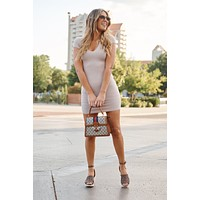 Less Is More Dress (Khaki)