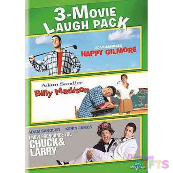 3-MOVIE LAUGH PACK-HAPPY GILMORE/BILLY MADISON/I NOW PRONOUNCE YOU CHUCK &