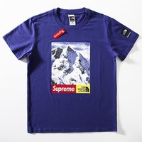 Cheap Women's and men's supreme t shirt for sale 85902898_0147