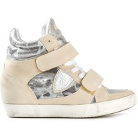 Philippe Model Panelled Wedge Sneaker