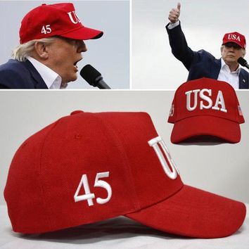 Brand Adult New Arrival 2017 Baseball Cap Make America Great Again Donald Trump Republican Caps Hats For Usa Hat Dad Snapback