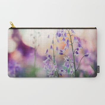 Bluebell Carry-All Pouch by Kristopher Winter