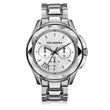 Karl Lagerfeld Designer Women's Watches Icon Stainless Steel Unisex Watch