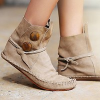 One Teaspoon Womens Teaspoon Ankle Moccasin
