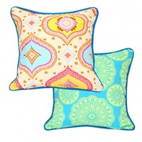 Wake Up Frankie - Candy Crush Dec Pillow - Multi : Teen Bedding, Pink Bedding, Dorm Bedding, Teen Comforters