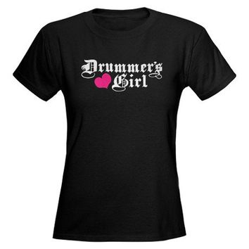 Drummer's Girl Tee on CafePress.com