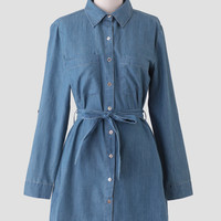 Bloomington Chambray Shirt Dress