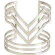 Cut Out Arrow Bars Cuff Bracelet