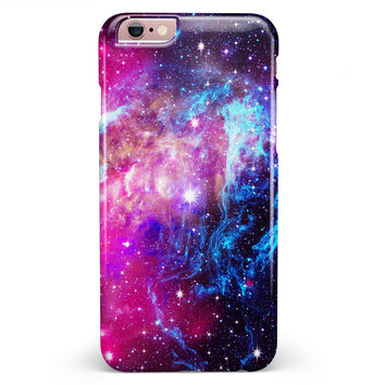 Bright Trippy Space iPhone 6/6s or 6/6s Plus INK-Fuzed Case