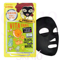 DEWYTREE Vita-Snail Black Sheet Mask