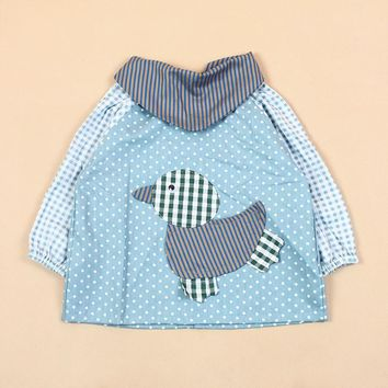 Size XL Children Long Sleeve Toddlers Waterproof Newborn Baby Infant Art Smock Apron Feeding Baberos Bavoir Clothing Bibs