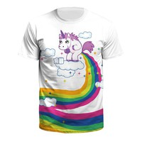 Rainbow Poop Unicorn T-Shirt
